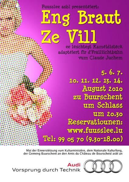 Eng Braut ze vill (2010)